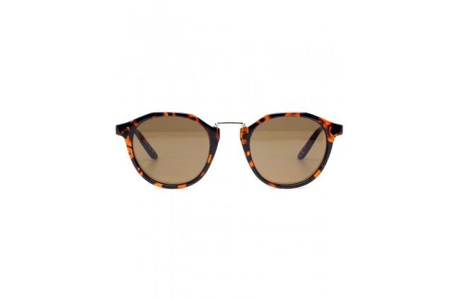 lunette de soleil Rosemarie ecailles marron